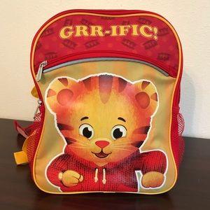 Daniel Tigers Neighborhood kids backpack